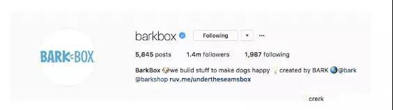 Instagram的Bio和profile